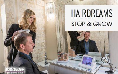 Hairdreams en Vitoria es DEGAS Estilistas SOLUCIÓN A LA CAIDA DEL CABELLO (II)